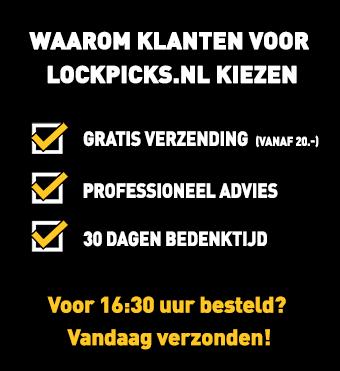 Waarom Lockpicks.nl?